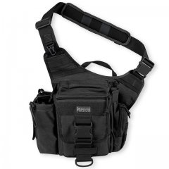 Сумка плечевая Maxpedition Jumbo Versipack Black (412B)